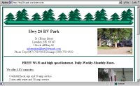 Highway 26 RV Park