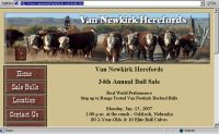 Van Newkirk Herefords